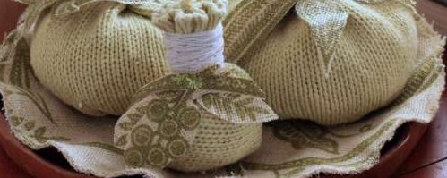 How To Make A Cozy Sweater Pumpkin