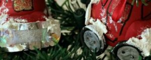 How to Make a Little Red Christmas Car Ornament
